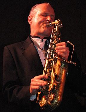 bill shreeve playing the alto sax