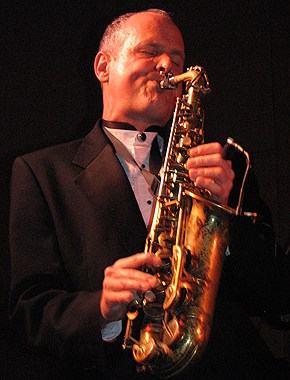 bill shreeve playing the alto sax